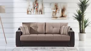 ultra lilyum vizon convertible sofa bed by sunset