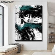 leinwand malerei abstrakte poster schönheit frauen mädchen zimmer dekoration cuadros moderne wand kunst wohnzimmer dekoration wand bilder
