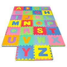 Matney Foam Floor Alphabet Puzzle Mat for Kids Tar