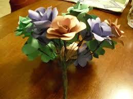 Paper Flower Bouquets Make Beautiful Centerpieces