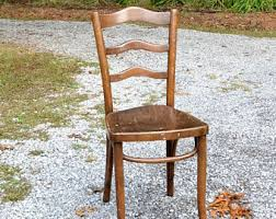 Thonet Bentwood Chair Cane Seat by Vintage Bentwood Chair Cane Seat Thonet Style Dark Wood Finish
