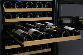 Front Venting Wine Fridge Built In Under Counter Under Bench Glass Sydney KingsBottle Australia Front Vent Wine Cooler