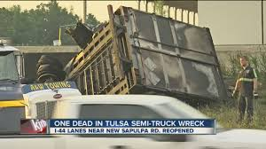 One Dead In Tulsa Semi-Truck Wreck - YouTube Monster Trucks In Tulsa Ok Movie Tickets Theaters Showtimes And Miller Truck Lines Tnsiam Flickr Semi Crash The Latest Fox23 News Videos 2019 New Freightliner M2 106 Trash Video Walk Around At Melton Rays Photos Carrying African Americans To Safety During The Race Mark Allen Buick Gmc Sapulpa Used Car Dealer Ferguson Is The Metro For Cars Window Cleaning Bubble Gleaming Glass Sierra 1500 Vehicles Sale