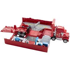 Disney•Pixar Cars Mack Truck Play Set - Shop.Mattel.com | JD's Style ... Disney Cars Mack Truck Hauler Carry Case Store 30 Diecasts Woody Playset Disneypixar Play Set Shopmattelcom Jds Style Color Changers Lovely Car Wash 124 Scale Orignal Remote Controlled Multi Toys For Kids And Toddlers Lightning Mcqueen Jan Amazoncom Change Dip Dunk Trailer Story Radiator Springs Byrnes Online 2 Playcase Toysrus 2300 Hamleys Games Mega Playtown Playset With Bessie Talking Doc Hudson
