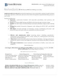 Medical Coding Resume Here Are Billing And