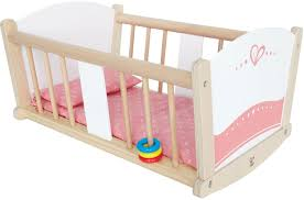 Hape Kitchen Set South Africa by Hape Rock A Bye Wooden Baby Cradle Toy At Mighty Ape Nz