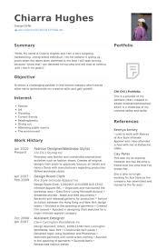 Fashion Designer Resume Samples Visualcv Database Rh Com Cv Template Sample