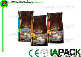 Vertical Coffee Powder Packing Machine Auger Filling