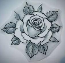 Tatoo Art Rose
