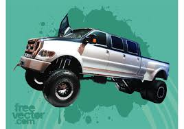 Ford F650 Super Duty Truck - Download Free Vector Art, Stock ...