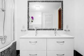 Under Sink Bathroom Cabinet White Painted Laura James