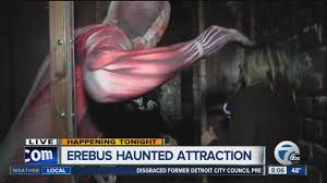 Best Halloween Attractions In Michigan by Erebus Haunted House Youtube