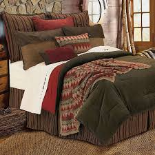 Nebraska Furniture Mart Bedroom Sets by Amazon Com Hiend Accents Wilderness Ridge Lodge Bedding Queen