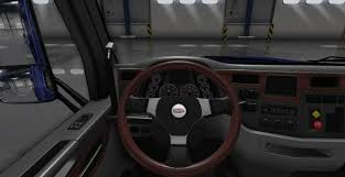 Peterbilt Logo Steering Wheel Mod - American Truck Simulator Mod ... Truck Steering Wheel Cover Black Silver 4446cm Roadkingcouk Brown Masque Grey 4748cm 14 F814h Forever Sharp Wheels Scania 3series Black Real Italian Leather Steering Wheel Cover 1987 Wheel In A Truck Stock Photo Image Of Switches 40572066 Fichevrolet Ww Ii Fire Eagle Field Two Steering Wheeljpg Bestfh Rakuten Leather Car Auto American Simulator Youtube Pro Usa Chevy Gm Perforated Ss