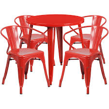 Flash Furniture Red Metal Indoor Outdoor Table Set With 4 Arm Chairs ... Cuba Stackable Faux Leather Red Ding Chair Acrylic Chairs Midcentury Room By Carl Aubck For E A Pollak Fast Food Ding Room Stock Image Image Of Lunch Ingredient Plastic Outdoor Fniture Makeover Iwmissions Landscaping Modern Red Kitchen Detail Area Transparent Rspex Table Murray Clear Set Of 2 Side Retro Red Ding Lounge Chairs Eiffle Dsw Style Plastic Seat W Cool Kitchen From The 560s In Etsy 2xhome Gray Mid Century Molded With Arms 24 Incredible Covers Cvivrecom