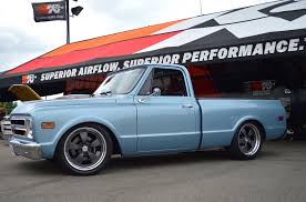 Randy Johnson's D&Z Customs 1968 Chevy C10 Shop Truck On Forgeline ... Busted Knuckles 1968 Chevy C10 Truckin Magazine Ole Blue Photo Image Gallery C20 Youtube Hotchkis Sport Suspension Systems Parts And Complete Boltin Short Bed Fleetside For Sale Autabuycom 1972 Chevrolet Cheyenne Super Pickup Truck Interview With Rene Parts Save Our Oceans Cst 50th Anniversary Restomod Ls1 Burnout Chevy Truck Long Bed C10 Pinterest Bangshiftcom Goliaths Younger Brother A C50