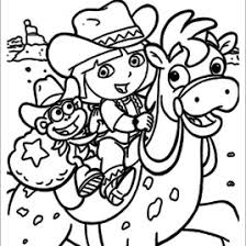 21 Dora Coloring Pages Free Printable Word