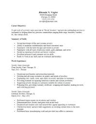 Resume Of Sales Associate Examples For Template Sample