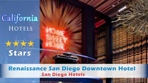 Marriott Gaslamp Fb by Renaissance San Diego Downtown Hotel A Marriott Luxury San