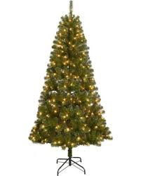 St Nicholas SquareR 7 Ft Pre Lit Artificial Christmas Tree