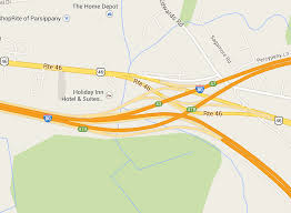 Route 46 shuts down in Parsippany after tractor trailer knocks