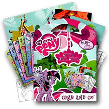 MPL My Little Pony 605 Stickers Activity Coloring Book With Bonus Sticker Twilight Sparkle Rainbo