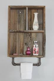 Awesome Reclaimed Wood Medicine Cabinet Industrial Shelf Shelves CabinetCubby