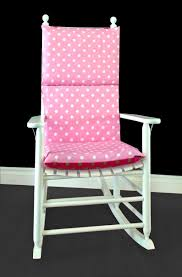 White Polka Dot Pink Rocking Chair Pad Charming Black And White Nursery Glider John Ottoman Ftstool Fniture Antique Chair Design Ideas With Rocking Chairs Walmart Diy Cushion How To Make An Easy Add Comfort Style To Your Favorite 2 Piece Indoor Unique Interior Ozy Rockers Pastel Green Zig Zag Chevron Cover Safavieh Barstow Ash Grey Wood Outdoor Gray Brilliant Wooden Replacement Cushions Bedroom Outstanding Of For
