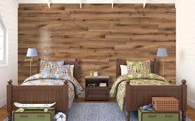 Vinyl Plank Flooring In Bedroom Wood On Walls Plus Installing
