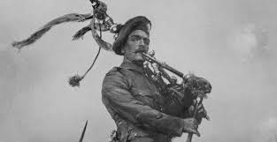 Most Decorated Soldier Uk by Scottish Piper War Heroes Historic Uk