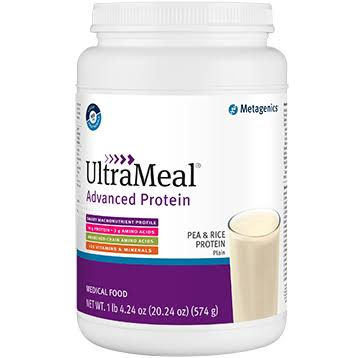 Metagenics Ultra Meal Advanced Protein Plain Supplement - 574g