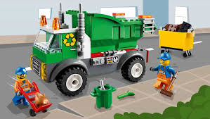 Check Out The LEGO® Juniors Garbage Truck! - Fun Kids - The UK's ...