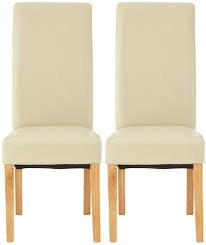 Hertford Cream Faux Leather Dining Chair (Pair) Cream Faux Leather Ding Chair With Curved Leg Crossley Single Adela Maple And Lpd Padstow Chairs Pair Brown Or Red Faux Leather Ding Chairs Antique Vintage Button Stud Detail Pack Of 2 Table Seat Set Bolero Tan Mark Harris California Simpli Home Cosmopolitan 9piece 8