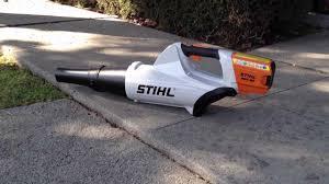 STIHL BGA 85 Electric Leaf Blower