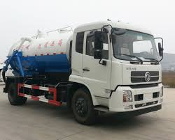China Dongfeng High Pressure Sewer Vacuum Toilet Truck Photos ...