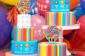 Cakes Decorated With Sweets by Parties Candy Themed Party Packages Dylan U0027s Candy Bar