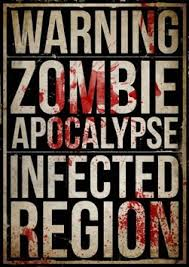 Buy Zombie Poster Horror Size165 Inch X 117 Halloween Wall Art Bedroom Decor Print