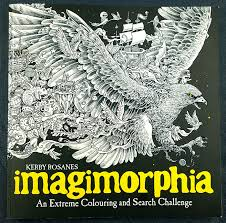 Book Review Imagimorphia With Coloured Pages