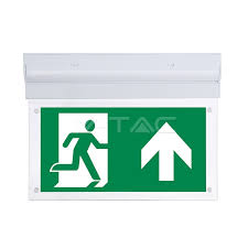 led emergency exit 16 leds wall ceiling mount emergency led