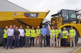 CATERPILLAR DELIVERS 50,000TH CAT ARTICULATED TRUCK Articulated Trucks Jordan Tractor Cat Unveils Resigned 745 Articulated Truck With Larger Cab Used For Sale Fning Caterpillar Debuting Over A Dozen New Machines At Conexpo 2006 730 Dump Truck 10341 Hours Southampton Uk May 31 2014 A Row Of Brand New Cat Ad60 Uerground Page Cavpower Nextgen Cab And For Ho Penn Dog Lovers Announces Three Trucks Mingcom