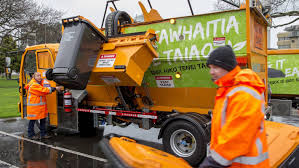 Palmerston North City Council's New Electric Rubbish Trucks Hit The ...