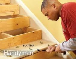 Squeaky Floors Under Carpet by How To Repair Squeaky Stairs Family Handyman