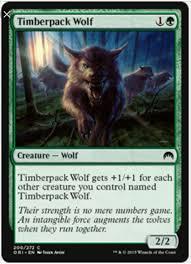 Mtg Werewolf Deck Ideas by Standard Mono Green Wolves Mtg Amino