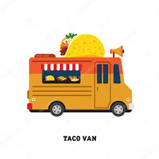 100 Mexican Food Truck Truck With Mexican Food Stock Vector TopVectors 68236367