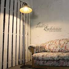 loft stehleuchte e27 1 8m hoch grau braun vintage stehle