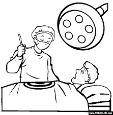 Occupations Online Coloring Pages