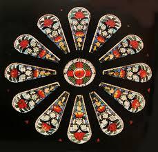 100 Flannel Flower Glass The WaratahWindow At The St Bedes Church Drummoyne Sydney