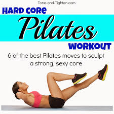 Hard Core Pilates Workout At Home