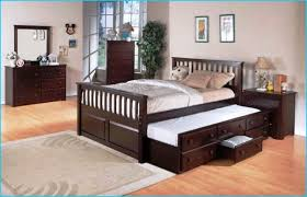 queen bed with trundle underneath HomeBuildDesigns