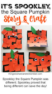 Spookley The Square Pumpkin Coloring Pages by Spookley The Square Pumpkin Craft